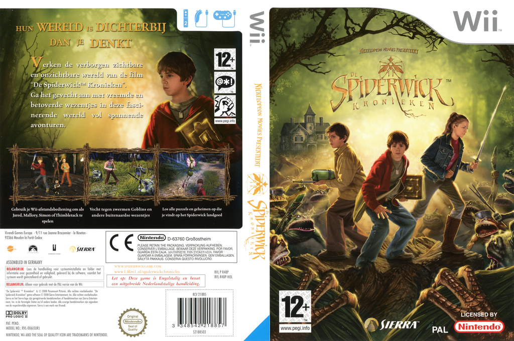 The Spiderwick Chronicles Wii coverfullHQ (R48P7D)
