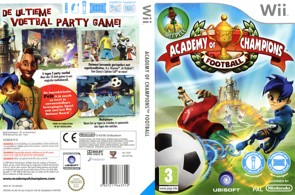 Academy of Champions Wii coverfullHQ (R5FP41)