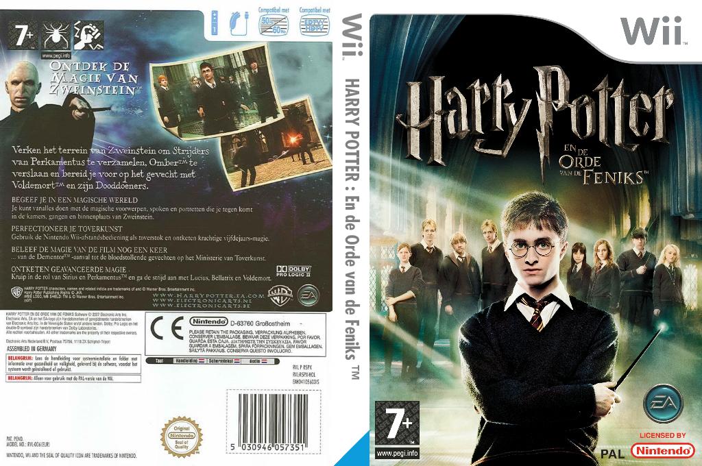 Harry Potter en de Orde van de Feniks Wii coverfullHQ (R5PX69)