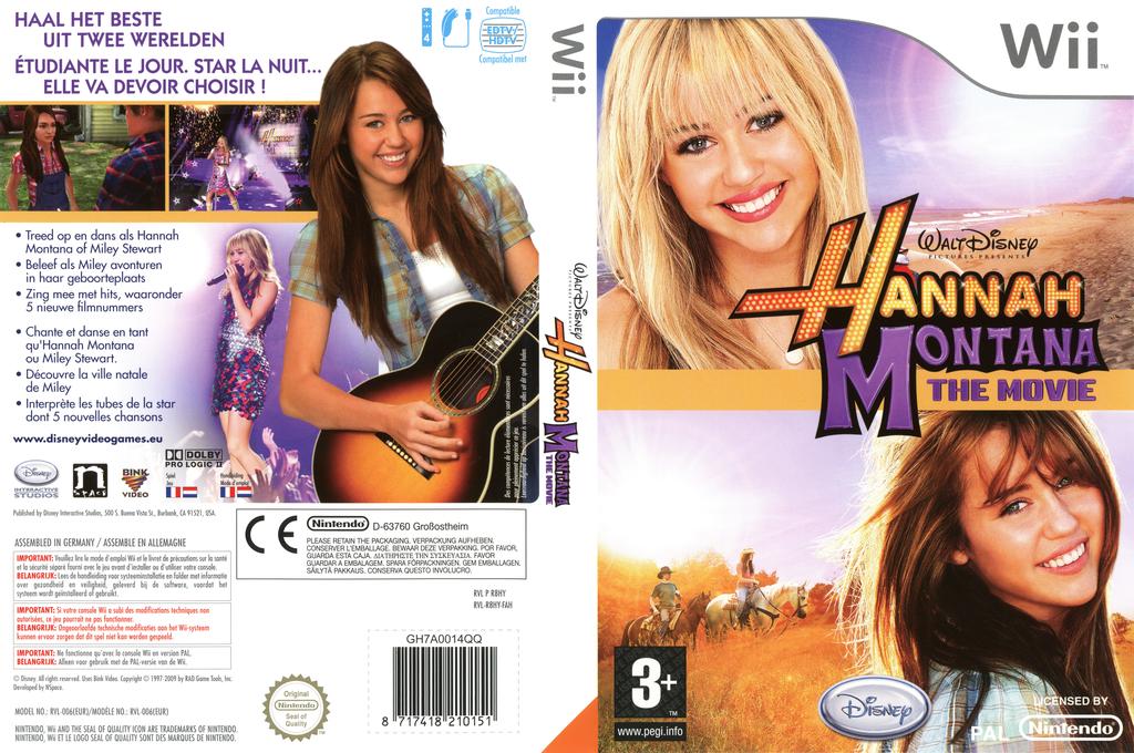 Hannah Montana: The Movie Wii coverfullHQ (R8HY4Q)