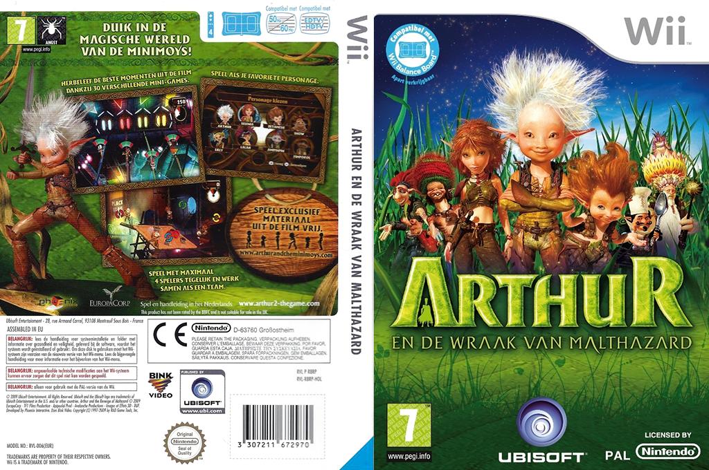 Arthur en De Wraak Van Malthazard Wii coverfullHQ (R8RP41)