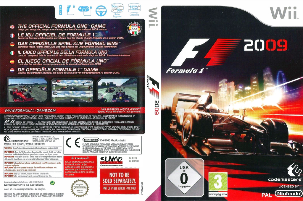 F1 2009 Wii coverfullHQ (R9FP36)