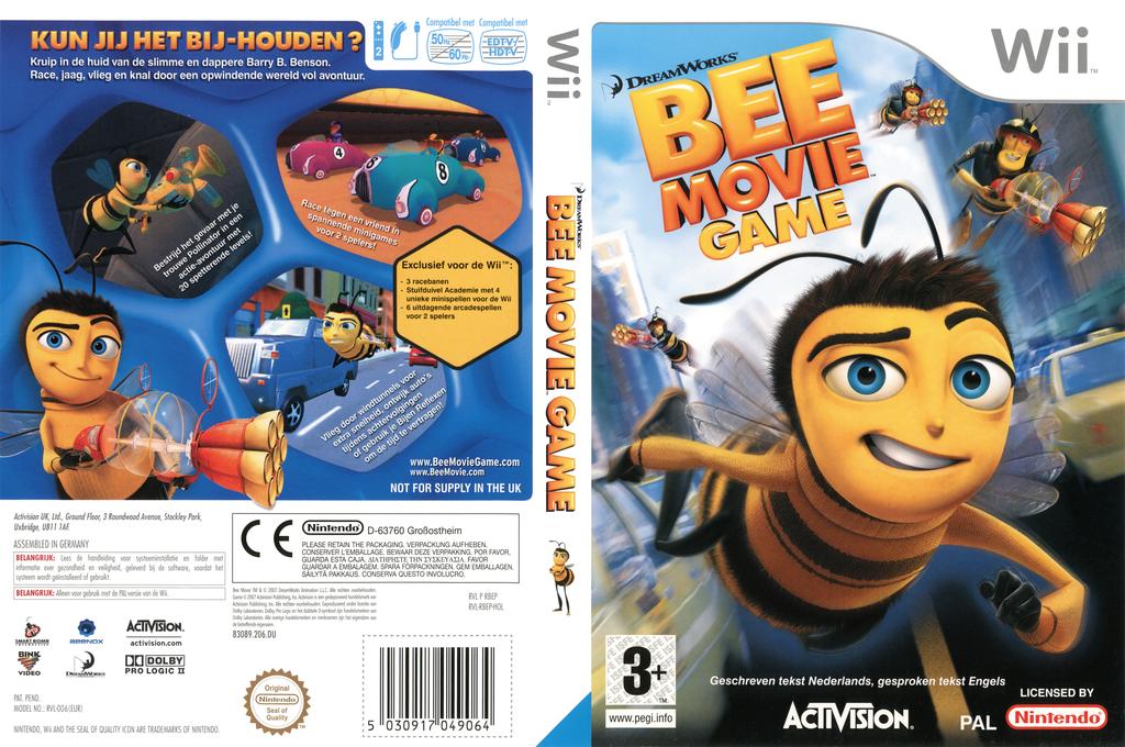 Bee Movie Game Wii coverfullHQ (RBEP52)