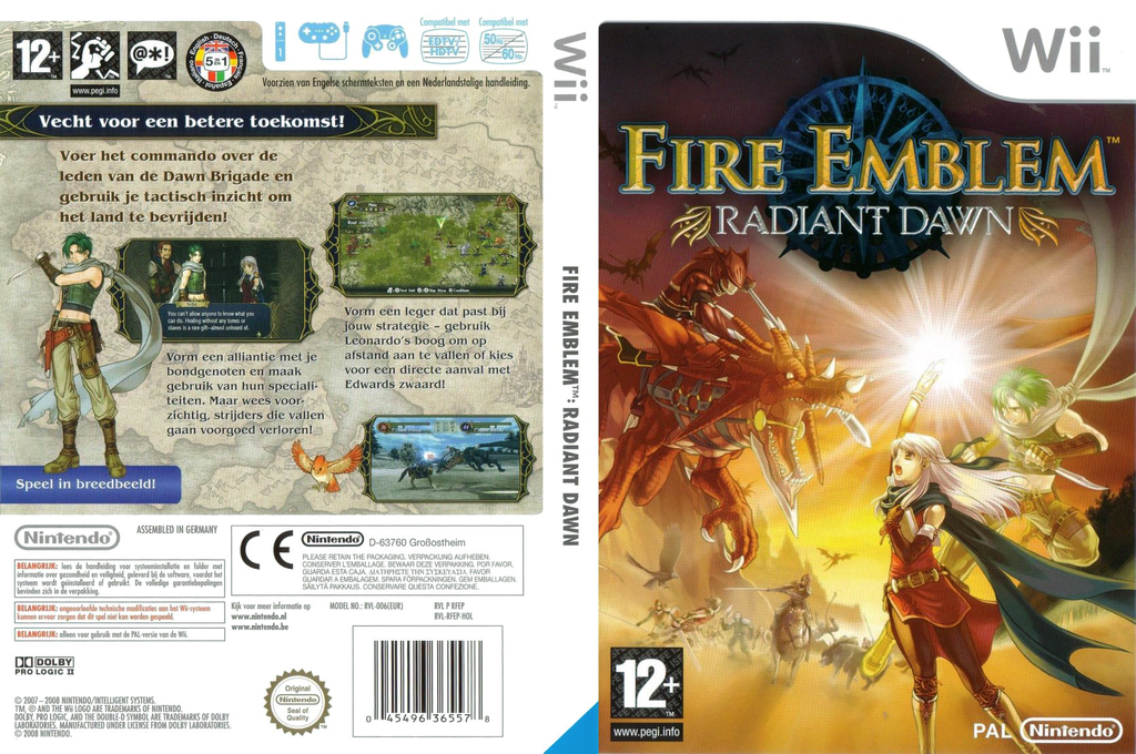 Fire Emblem: Radiant Dawn Wii coverfullHQ (RFEP01)