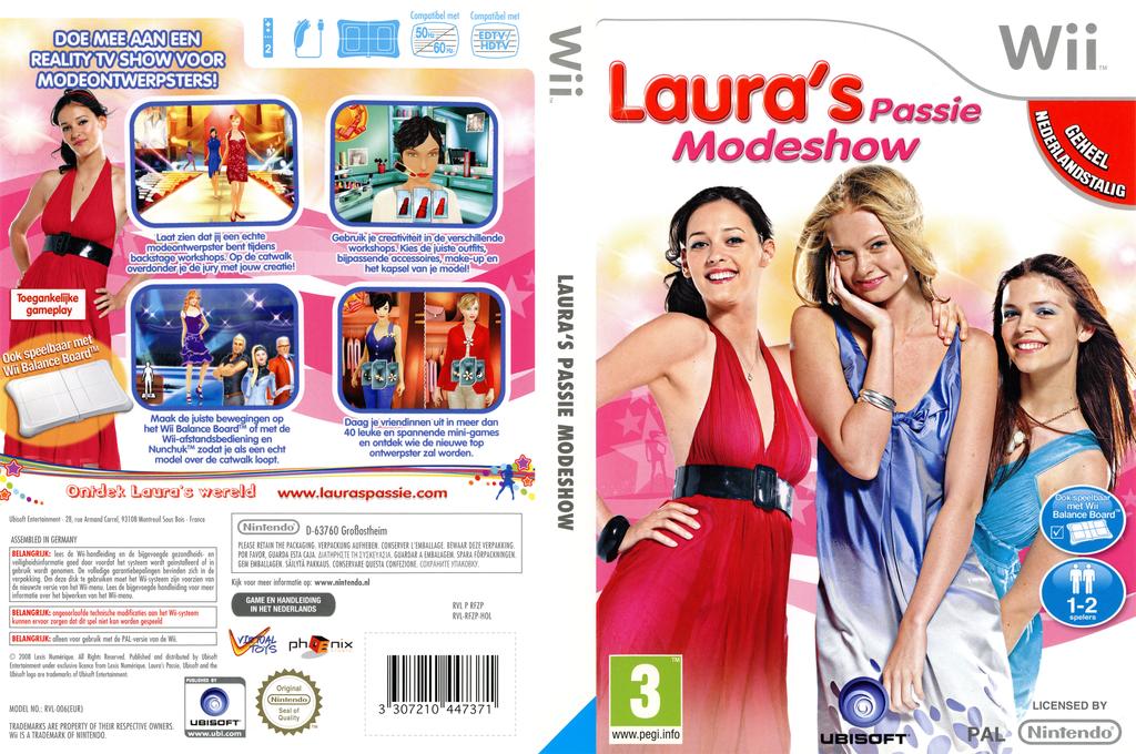 Laura's Passie Modeshow Wii coverfullHQ (RFZP41)