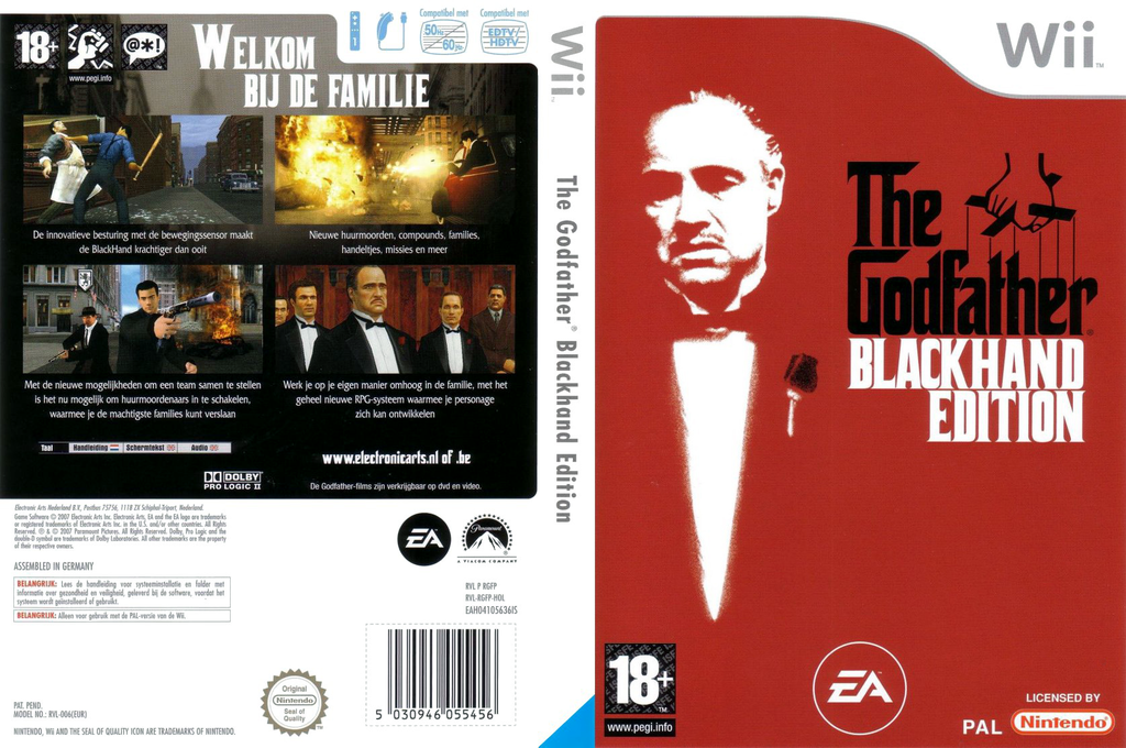 The Godfather: Blackhand Edition Wii coverfullHQ (RGFP69)
