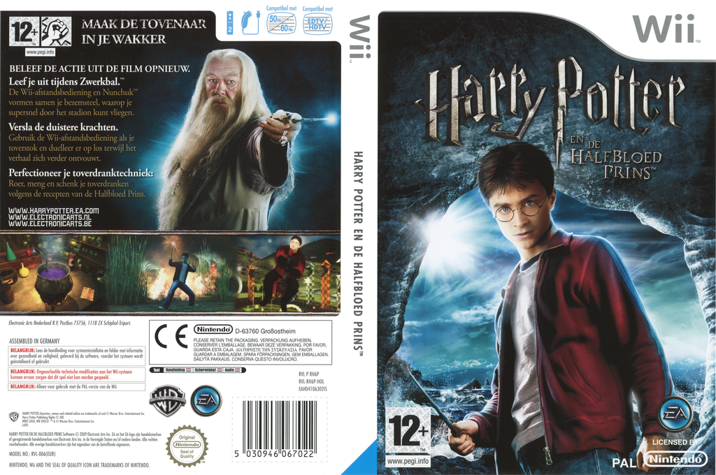 Harry Potter en de Halfbloed Prins Wii coverfullHQ (RH6P69)