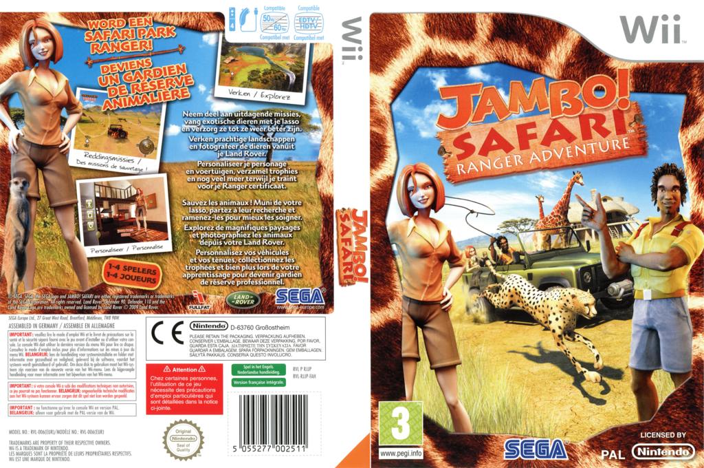 Jambo! Safari Animal Rescue Wii coverfullHQ (RJJP8P)