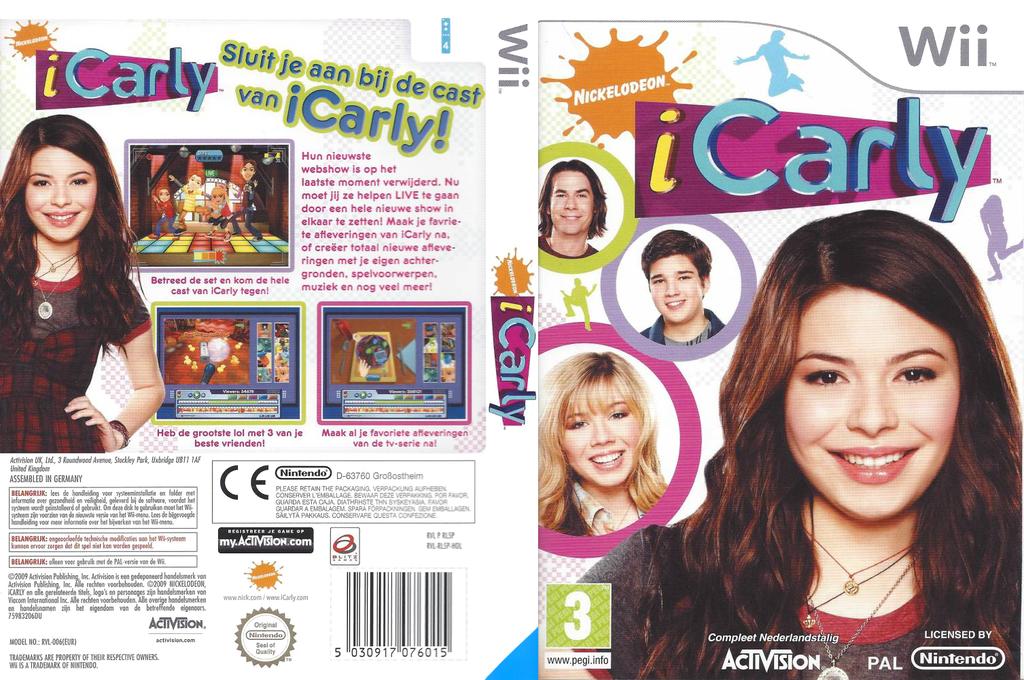 iCarly Wii coverfullHQ (RL5P52)