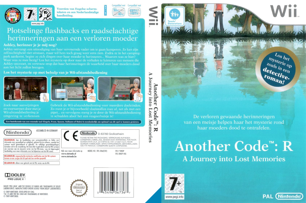 Another Code: R - A Journey Into Lost Memories Wii coverfullHQ (RNOP01)