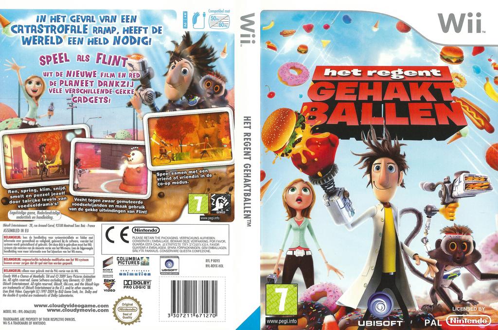 Het Regent Gehaktballen Wii coverfullHQ (ROYX41)