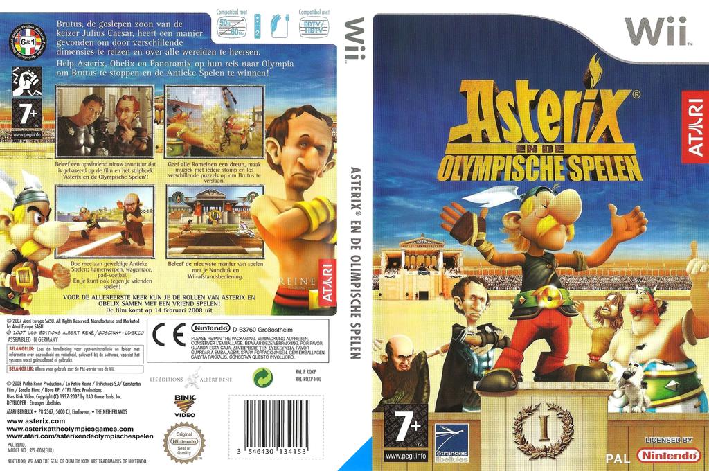 Asterix en de Olympische Spelen Wii coverfullHQ (RQXP70)