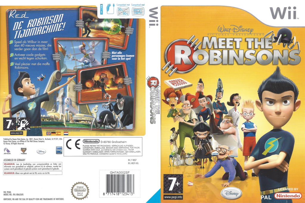 Meet The Robinsons Wii coverfullHQ (RRSP4Q)