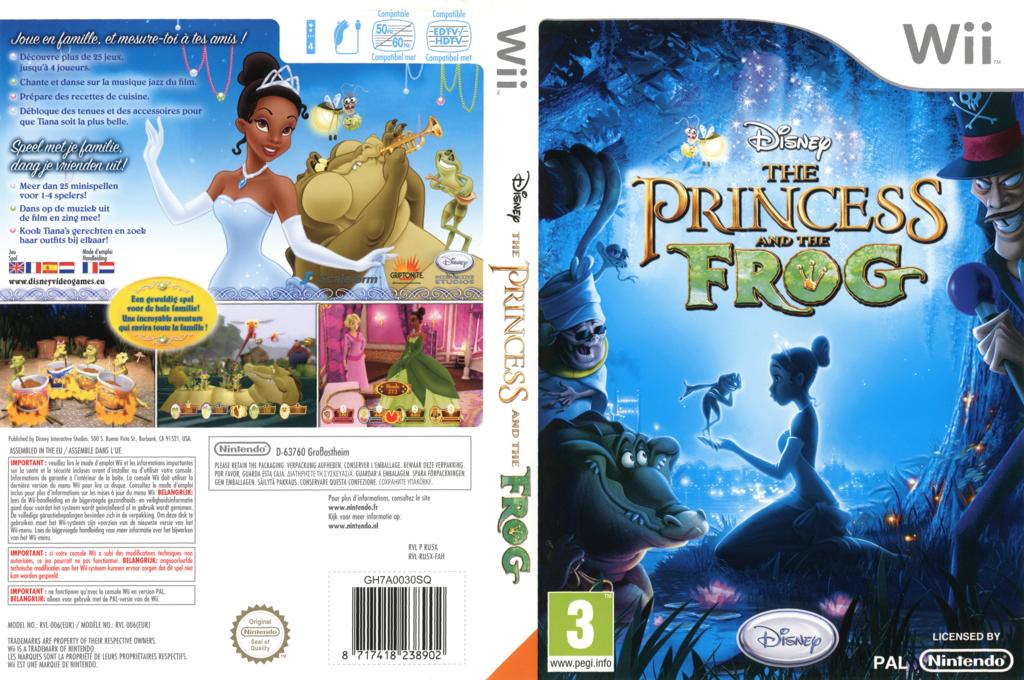 De Prinses en de Kikker Wii coverfullHQ (RU5X4Q)