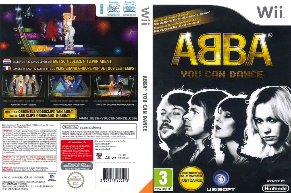 ABBA: You Can Dance Wii coverfullHQ (S2EP41)