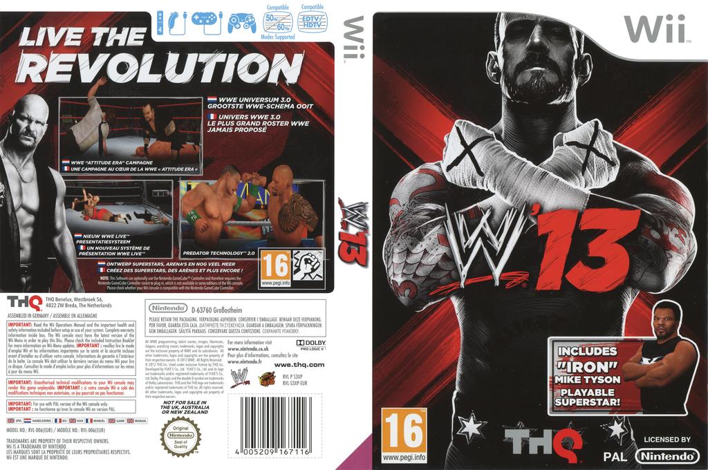 WWE '13 Wii coverfullHQ (S3XP78)