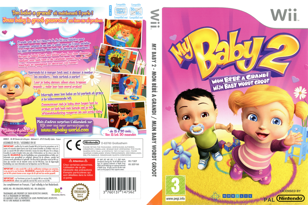 My Baby 2: Mijn Baby Wordt Groot Wii coverfullHQ (SB2PNP)