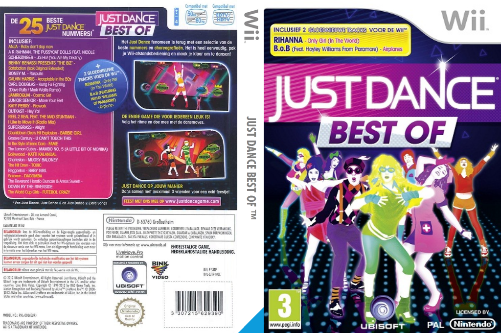 Just Dance: Best Of Wii coverfullHQ (SJTP41)