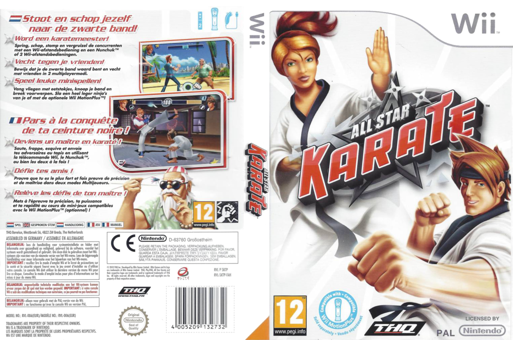 All Star Karate Wii coverfullHQ (SKTP78)