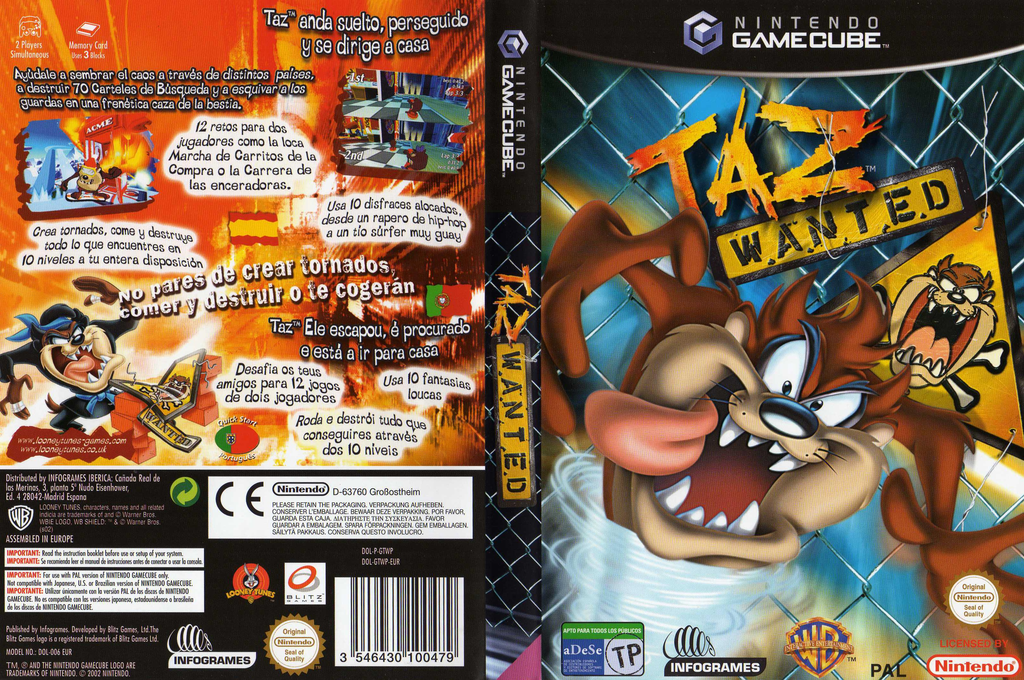 Wii coverfullHQ (GTWP70)