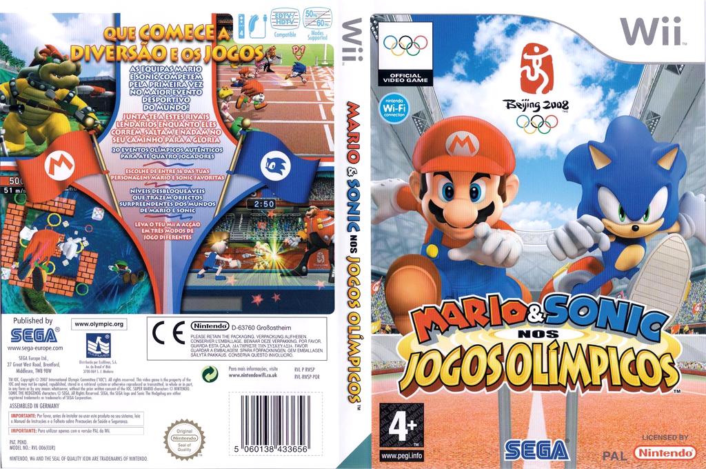 Mario & Sonic nos Jogos Olímpicos Wii coverfullHQ (RWSP8P)
