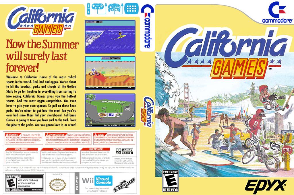 California Games Wii coverfullHQ (C97E)