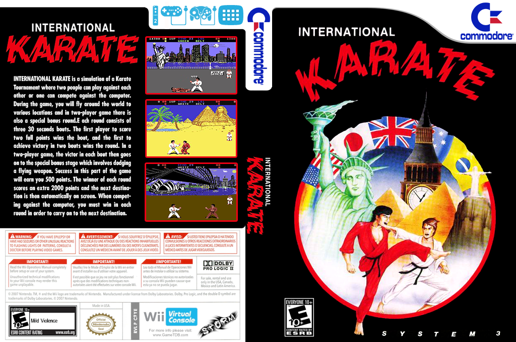 International Karate Wii coverfullHQ (C9YE)