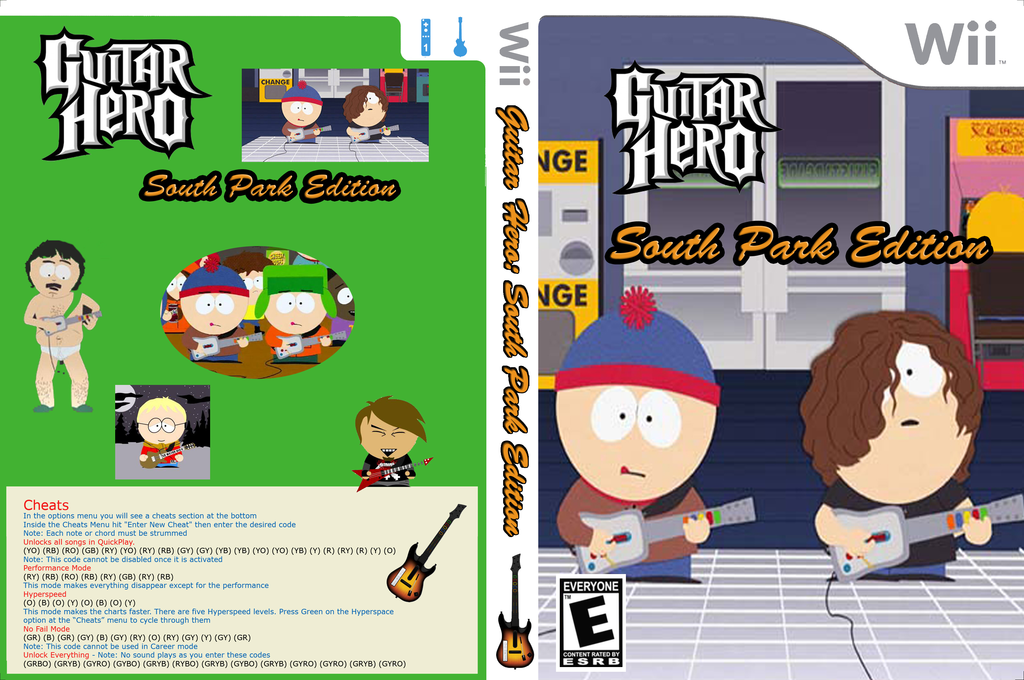GH3: South Park Edition Wii coverfullHQ (CGHE90)
