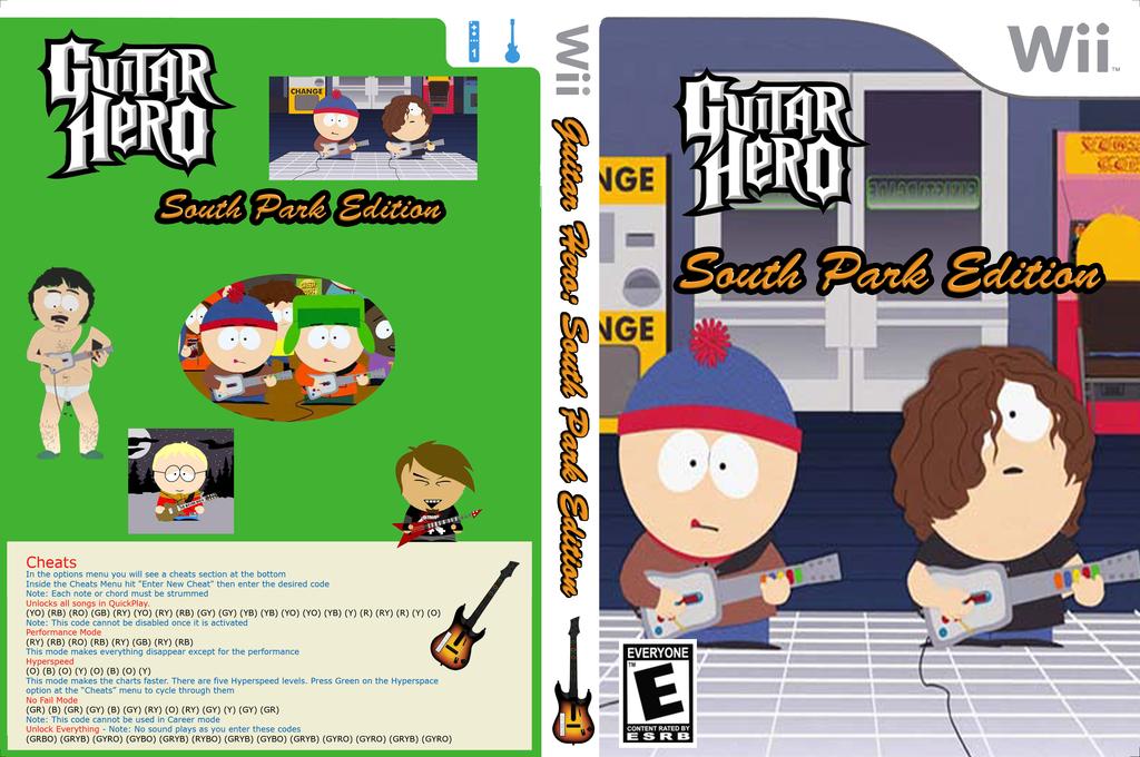 GH3: South Park Edition Wii coverfullHQ (CGHE90)