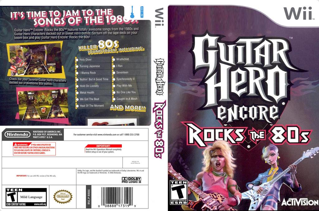 Guitar Hero III Custom:Rock The 80's Wii coverfullHQ (CGHE99)