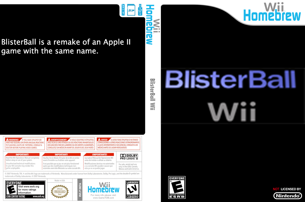 BlisterBall Wii coverfullHQ (D07A)