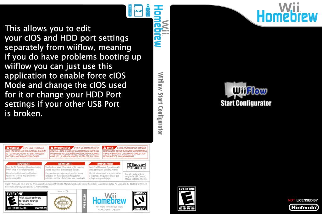 D2EA - WiiFlow Start Configurator
