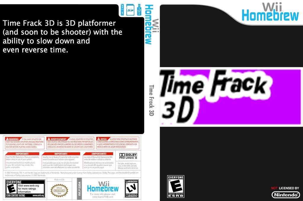 Time Frack 3D Wii coverfullHQ (D3DA)