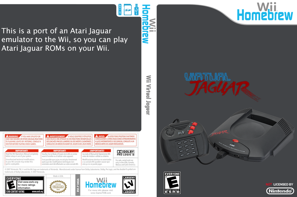 Wii Virtual Jaguar Wii coverfullHQ (D43A)