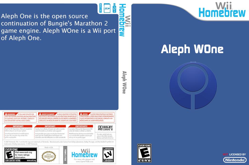 Aleph WOne Wii coverfullHQ (D4KA)