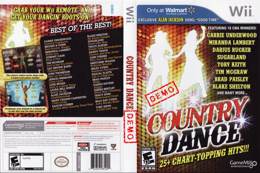Country Dance (Demo) Wii coverfullHQ (DAUEPZ)