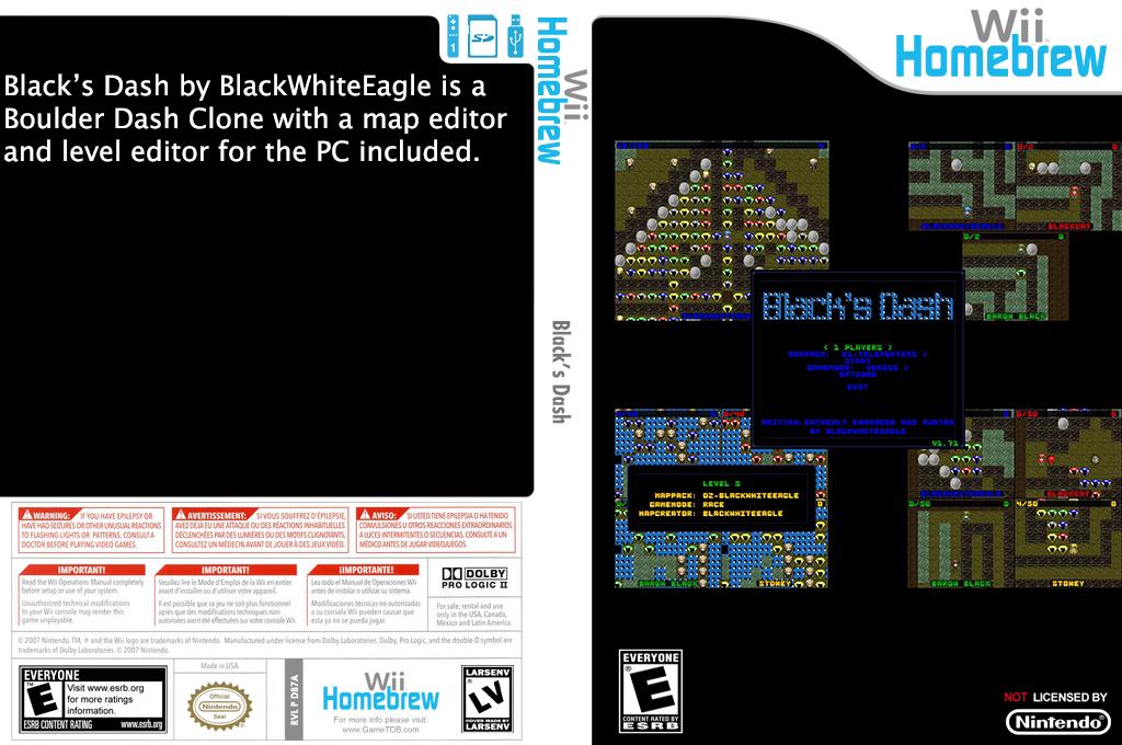 Blacks Dash Wii coverfullHQ (DB7A)