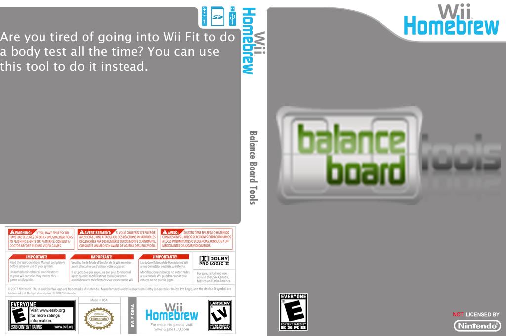 Balance Board Tools Wii coverfullHQ (DBBA)