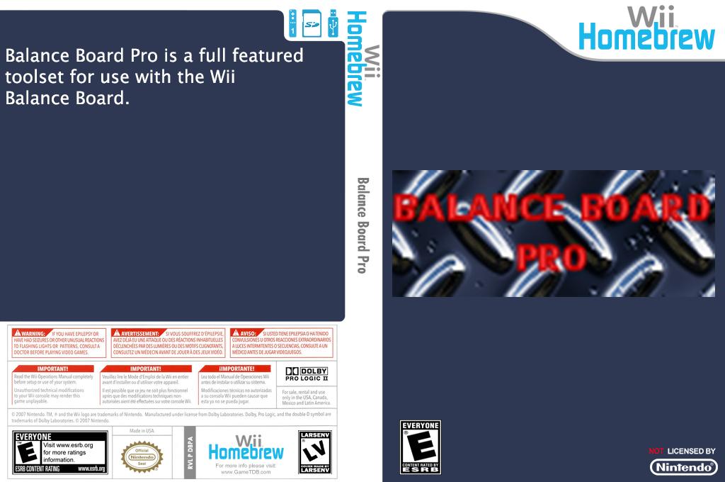 Balance Board Pro Wii coverfullHQ (DBPA)