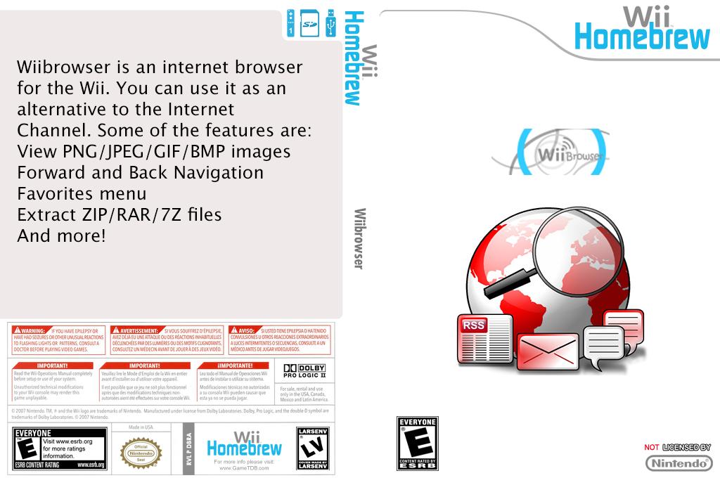 WiiBrowser Wii coverfullHQ (DBRA)