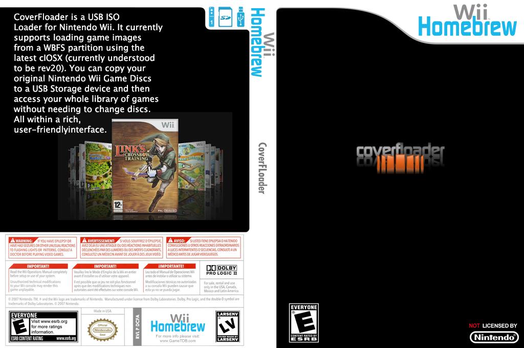 Coverfloader Wii coverfullHQ (DCFA)