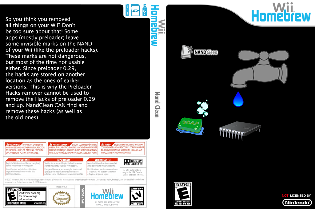 Nandclean Wii coverfullHQ (DCNA)