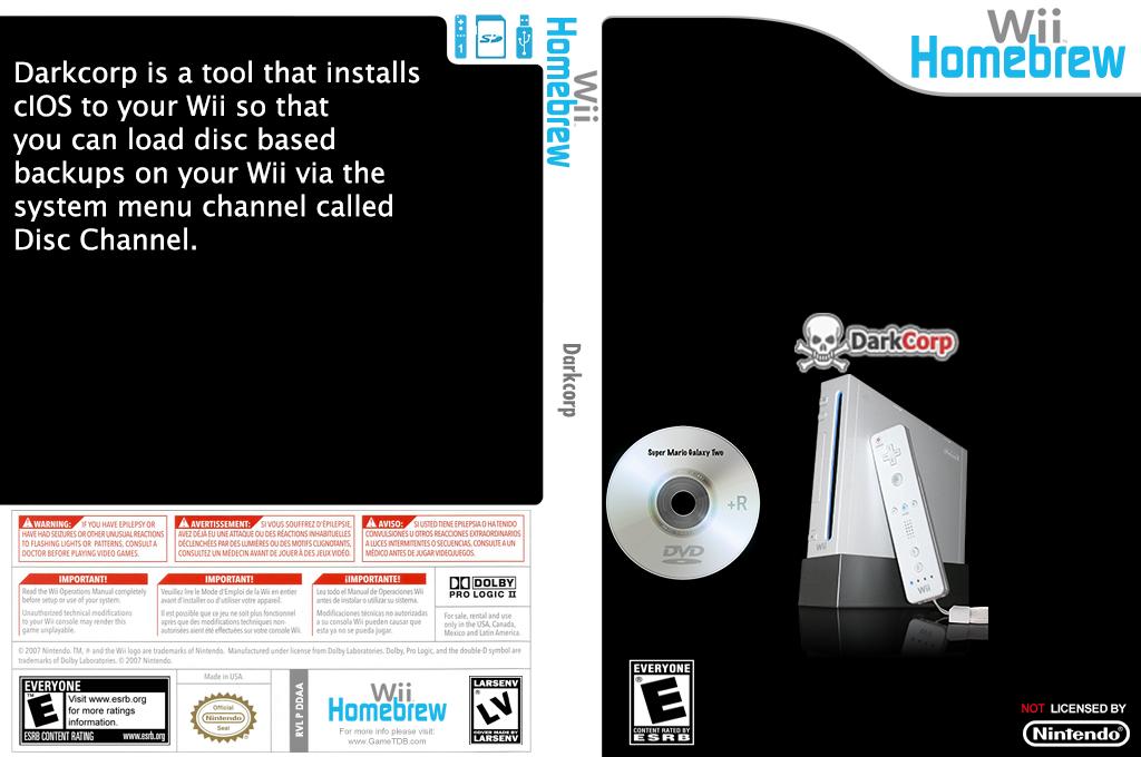 Darkcorp Wii coverfullHQ (DDAA)