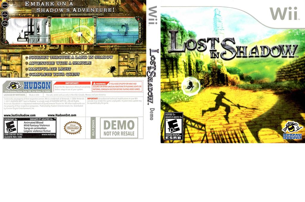 Lost In Shadow - Best Buy (Demo) Wii coverfullHQ (DDWX18)