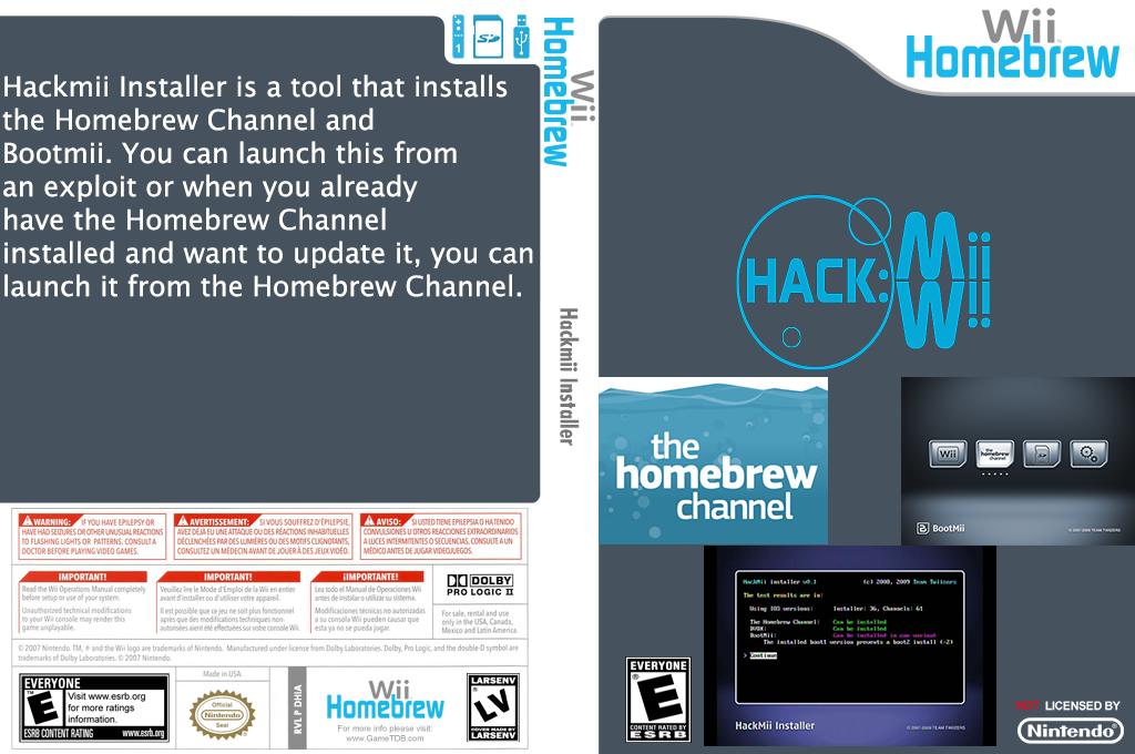 HackMii Installer Wii coverfullHQ (DHIA)