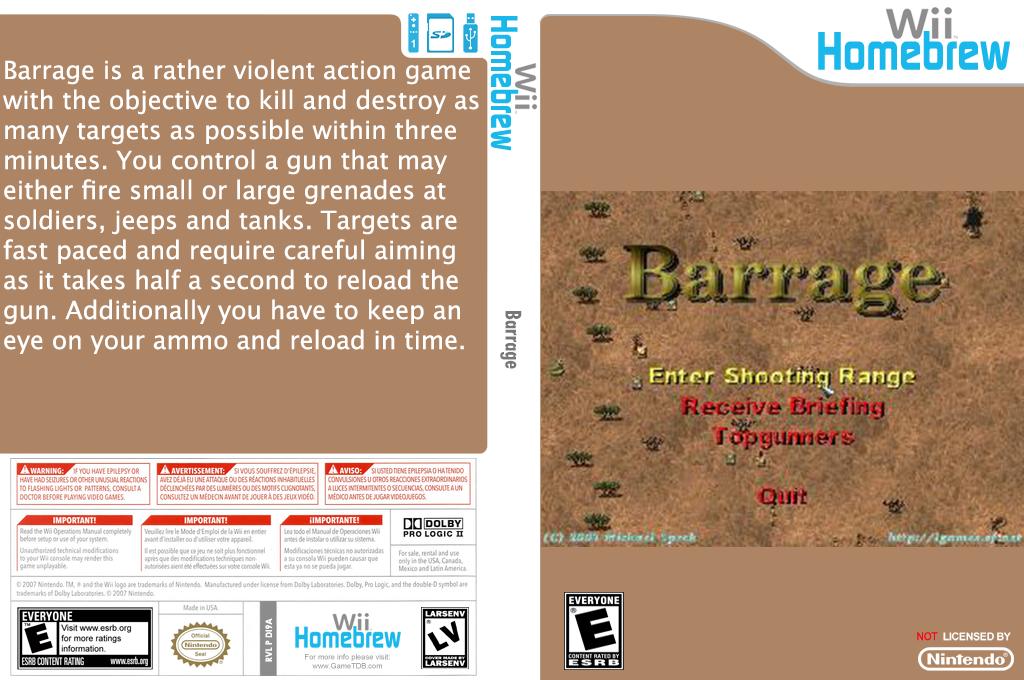 Barrage Wii coverfullHQ (DI9A)