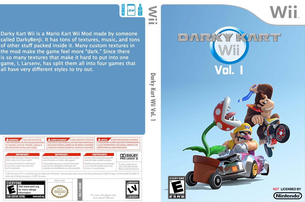 Darky Kart Wii Vol. 1 Wii coverfullHQ (DKWE01)
