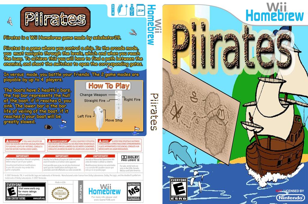Piirates Wii coverfullHQ (DP4A)