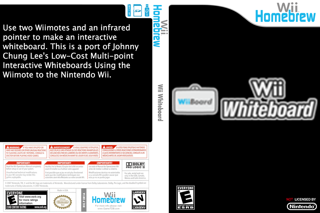 Wii Whiteboard Wii coverfullHQ (DR1A)