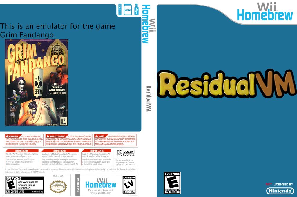 Residualvm Wii coverfullHQ (DRVA)